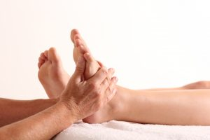 Voetreflex massage